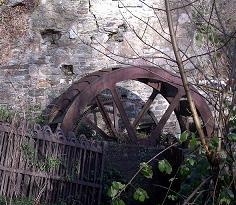 Barleyfield Mill waterwheel