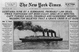 SS Lusitania by NYTimes